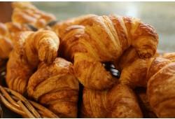 Croissants are 'delish'...
